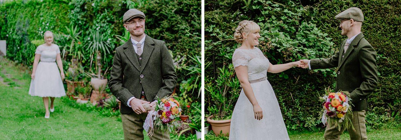 First Look Wernigerode Hochzeit