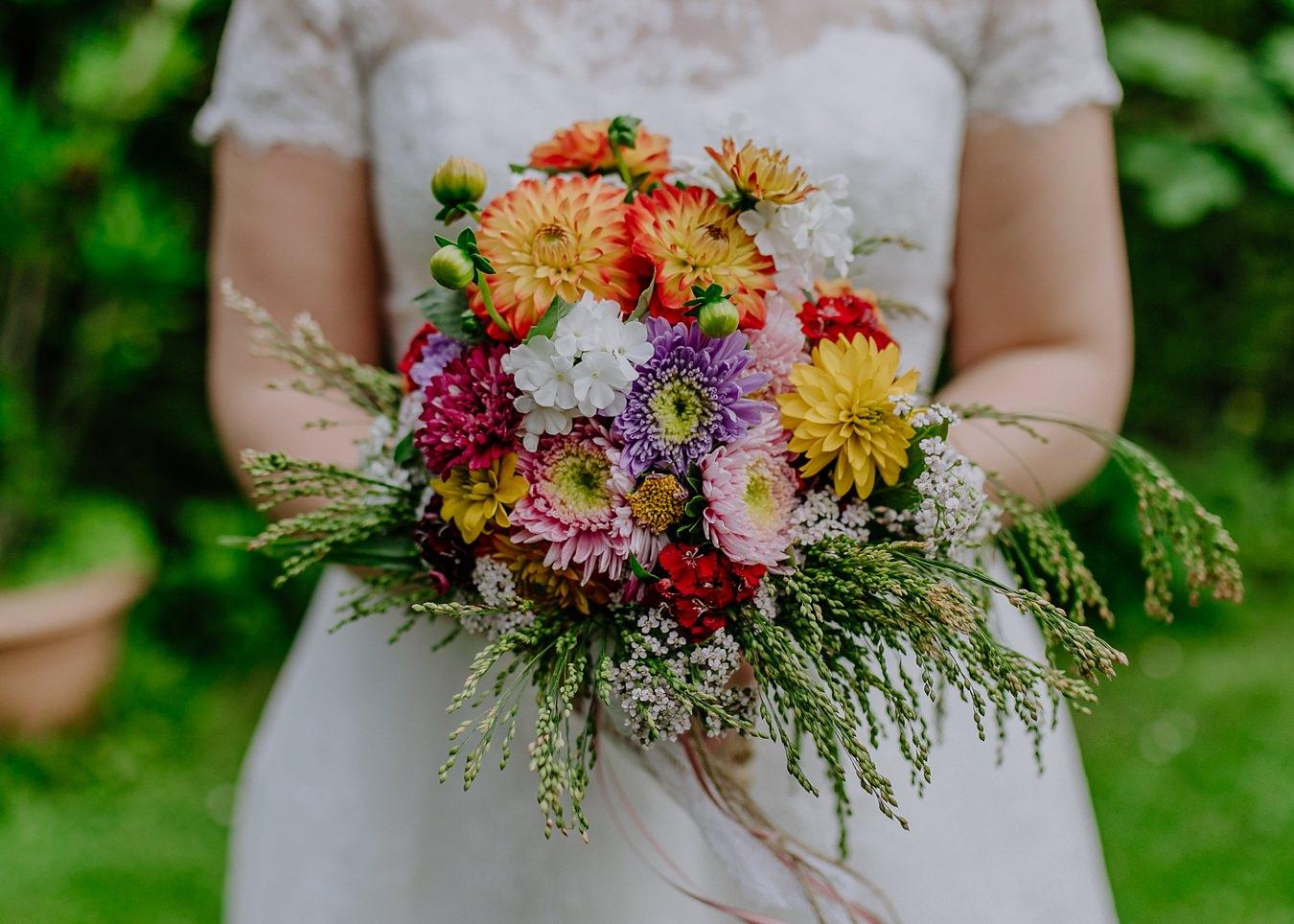 Brautstrauß Braut Hochzeit Wernigerode